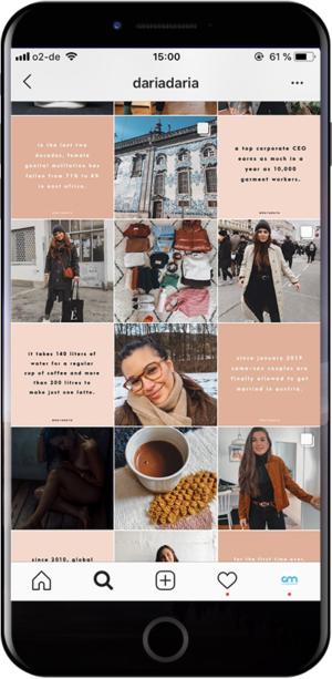 Instagram-Profil gestalten