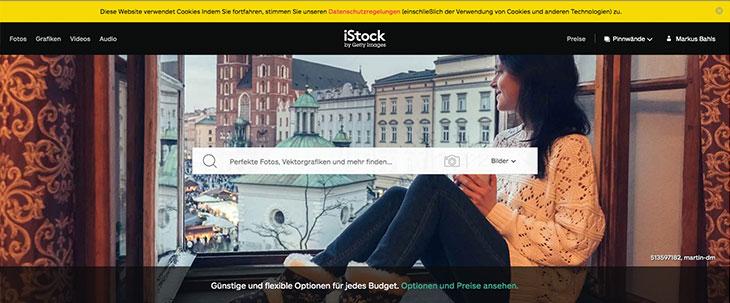 iStock Bildportal Urheberrecht