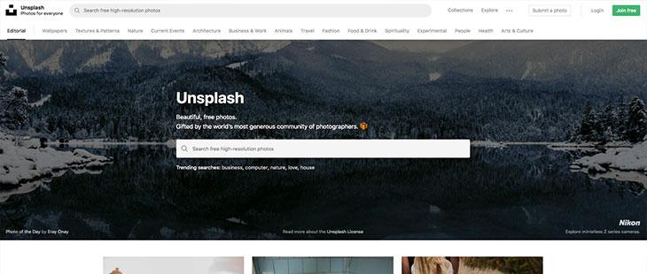 Unsplash Urheberrecht Bildportal