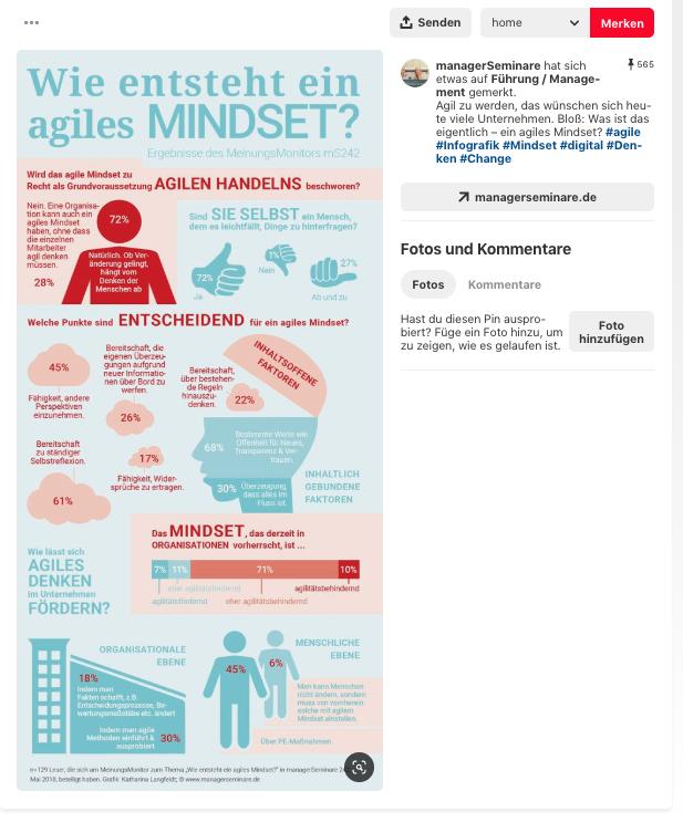 Infografiken auf pinterest
