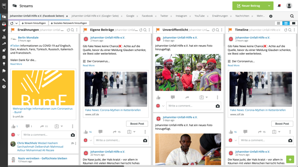 Social-Media-Tool Hootsuite