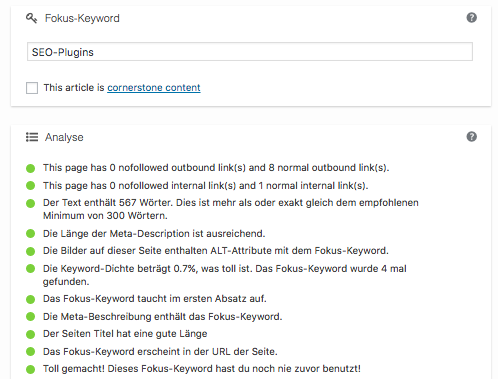 SEO-Plugins für WordPress: Yoast