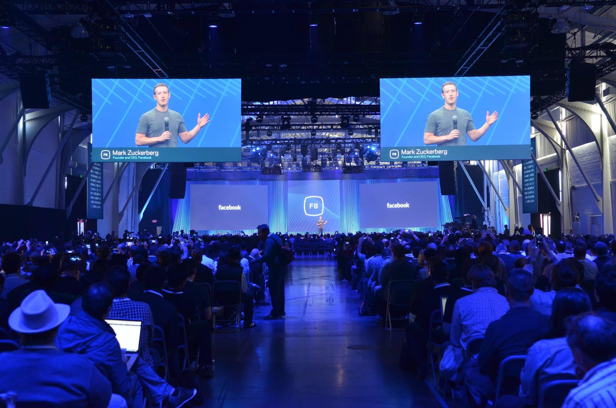 F8 2015 – Mark Zuckerberg über die Facebook App-Familie