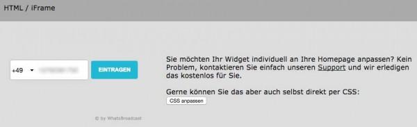 Widget-WhatsBroadcast