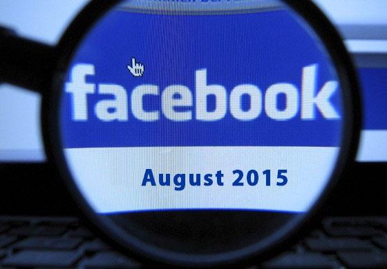 Facebook Updates August 2015