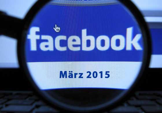 Facebook Updates März 2015