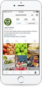 Instagram Business Profil Übersicht