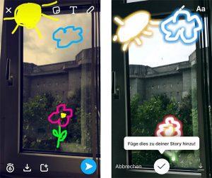 Snapchat vs. Instagram Story