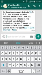 Leadgenerierung via Whatsapp